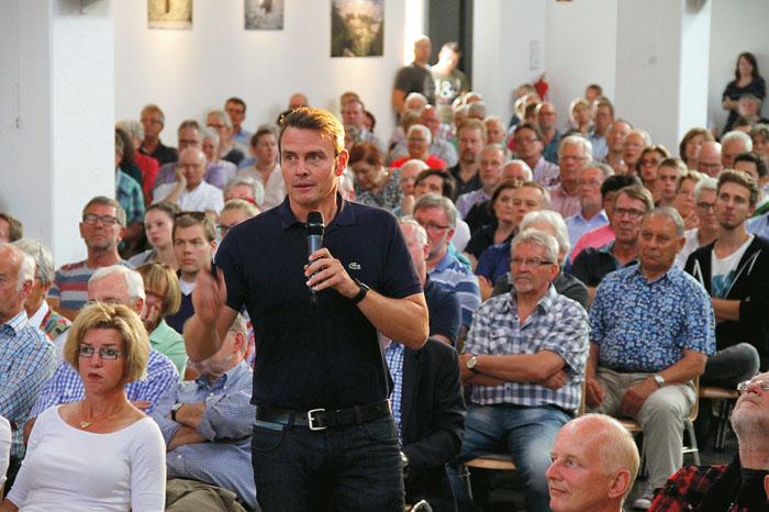 Das Interesse am Outlet-Center ist groß, wie die Bürgerversammlung im August bewies. Über 600 Zuhörer kamen in die Basili