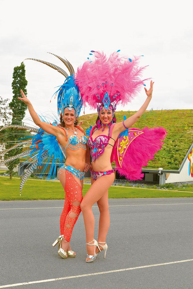 RSA verlost Karten für das Samba-Festival im August.