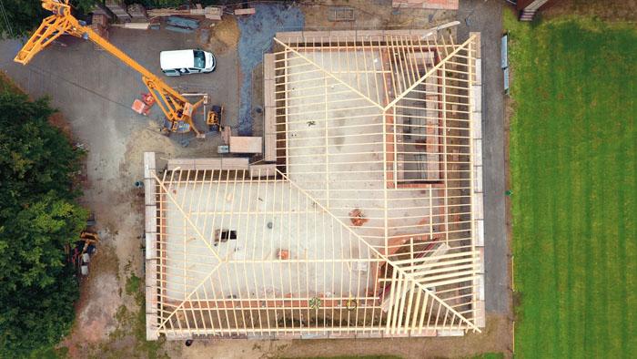 Aus der Vogelperspektive wird der Umfang des Gebäudes gut erkennbar. Fotos: DSA/Pauleickhoff
