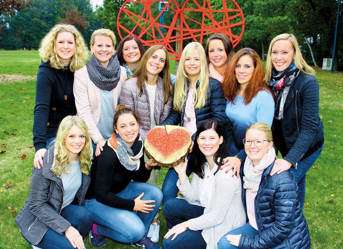 """""""Herzschlagfinale"""" heißt es für die Steinhorster Showtanzgruppe """"Young Genration"""": Marina Maas, Luisa Wiens, Christ"""