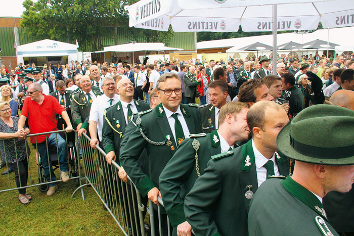 Ein volles Haus war in Westerwiehe bisher zu jedem Schützenereignis garantiert. Auch zu den beiden Großveranstaltungstagen