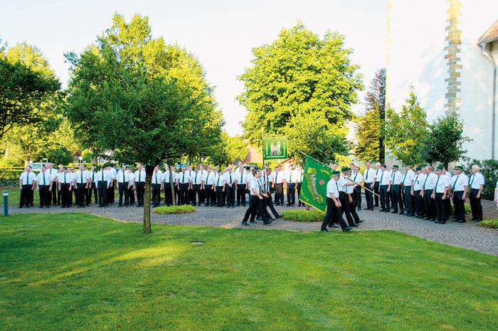 Der Schützenausmarsch hat bei der St.-Benediktus-Bruderschaft eine lange Tradition. In diesem Jahr gibt es aber wesentliche