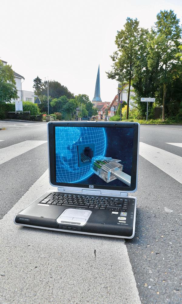 Das schnelle Internet ist auf dem Weg nach Delbrück. Der Ausbau wird jedoch zunächst in den Gewerbegebieten beginngn. Foto: