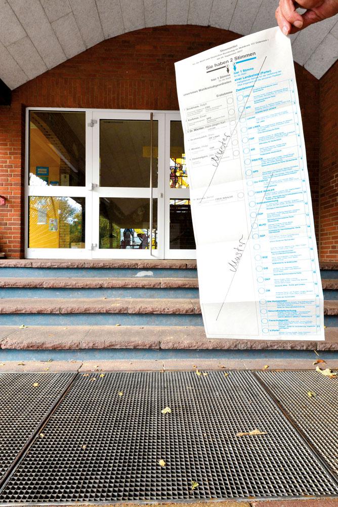 Nicht mehr I. Wahl Foto RSA/Addicks