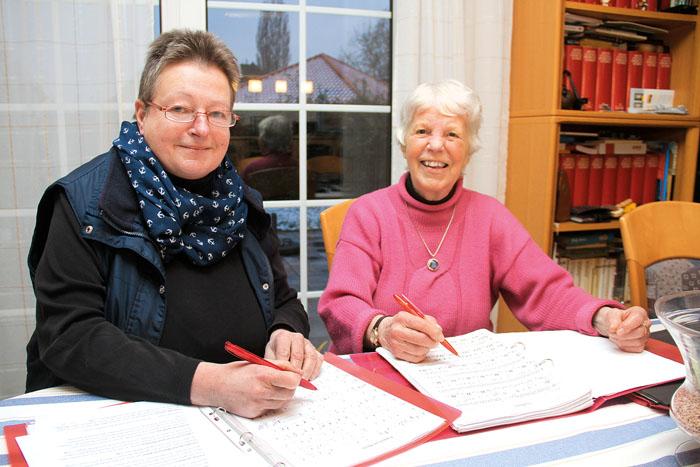 Doris Hammeke wurde passend zum Geburtstag ausgezeichnet. Foto: RSA/robui