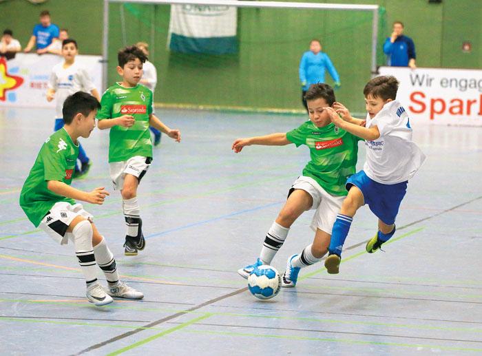 Im U11-Spiel der Viktorianer gegen die Mannschaft aus Mönchengladbach mussten sich die Rietberger mit 0:4 geschlagen geben.