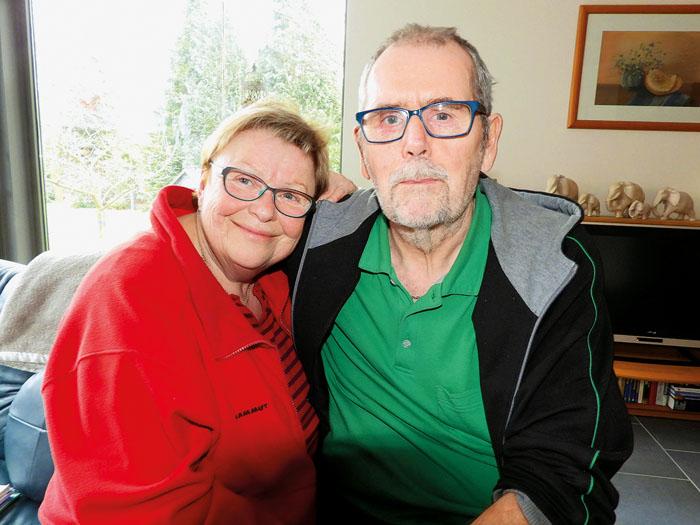 Aufgeben ist keine Option:Bernhard und Karin Kleinemeier wollen die schrecklichen Erlebnisse hinter sich lassen. Fotos (2): G