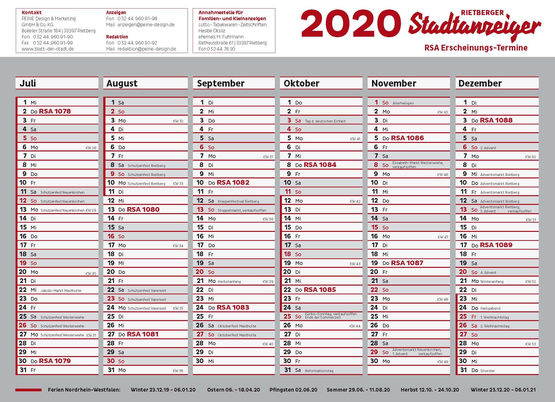 Valentinstag 2020 kw