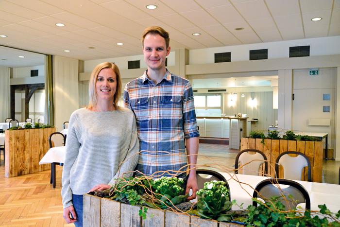 Um die Hochzeitslocation müssen sich Petra Mersmann und Ralf Kleineheinrich keine Gedanken machen. Hier im Saal der Gaststä