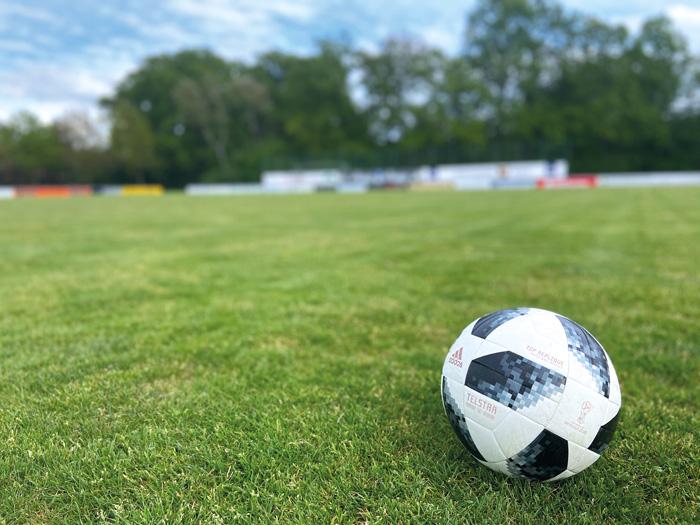 Nichts los auf dem Rasen von Germania Westerwiehe. Das Training muss wegen Corona ruhen. Foto: privat