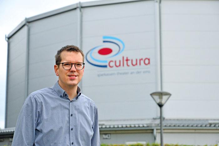 Kulturig-Chef Johannes Wiethoff versucht, so viel wie möglich aus dem Veranstaltungsprogramm doch noch auf die Cultura-Bühn