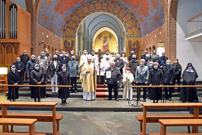60. Gebetswache für den Frieden. Jubiläums-Gottesdienst in der Abteikirche Varensell mit Weihbischof Dr. Dominicus Meier OS