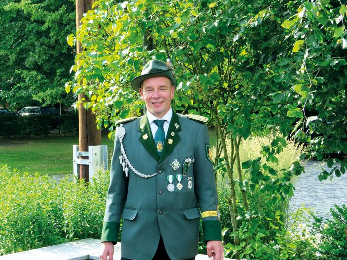 Die Schützenbruderschaft St. Hubertus Bokel trauert um ihren 1. Brudermeister Hubert Röhr. Foto: privat