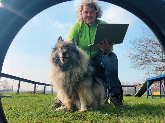 Ingrid Schnusenberg hat Hundebesitzern online über die Lockdown-Zeit geholfen. Foto: privat