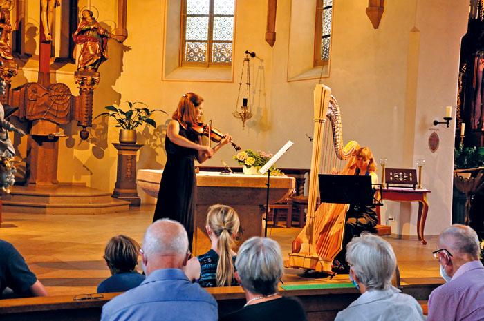 Kirchenmusik im Kloster fand erneut in der Rietberger Pfarrkirche statt. Jene bot bei pandemiebedingter Sitzordnung mehr Pl