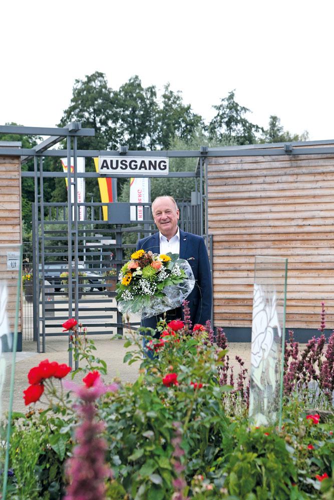 Abschied nicht nur vom Dienst bei der Stadt, sondern auch vom Gartenschaupark. Peter Milsch hat in Rietberg viel bewegt. Foto